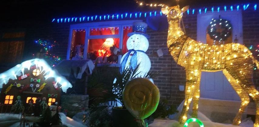 Christmas Light Display in aid of CTLA